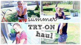 Summer TRY-ON Haul ♥ Lookbook