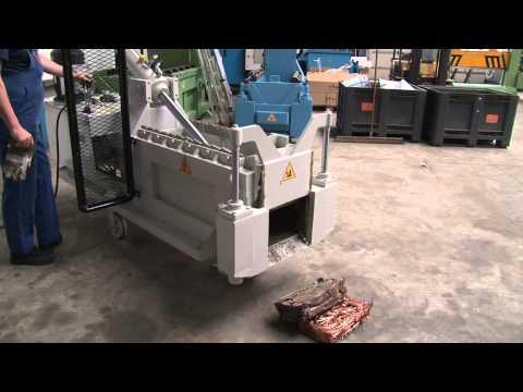 Metallpresse / Metal Baler RMH MB ( Mini Baler )