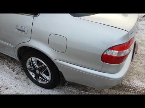 Тойота Королла 1999г видео обзор