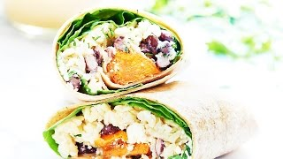 Sweet Potato Wrap - Show Me The Yummy - Episode 17