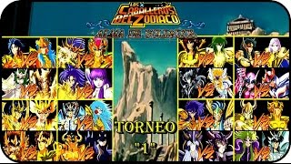 Saint Seiya Soldier's Soul Gameplay Latino PS4 TORNEO PARTE 1
