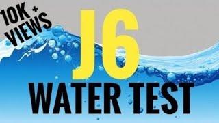 Samsung J6 Water Test