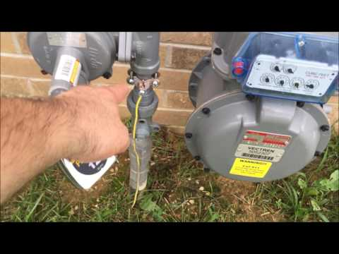 Gas Meter Grounding Deemed Ok By The Gas Company