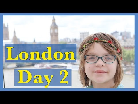 London Eye and National Gallery | Travel Vlog- London Day 2 | Day 1074 | ActOutGames