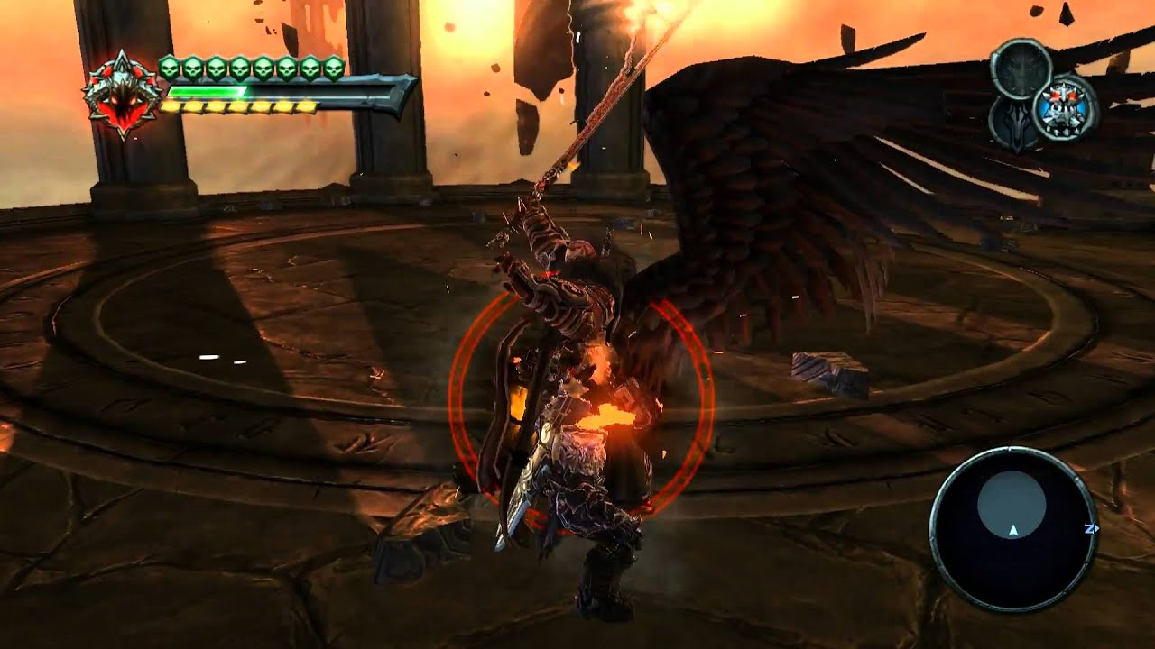 Darksiders PC : Last Boss Fight - Abaddon [HD] (cuz i can ...