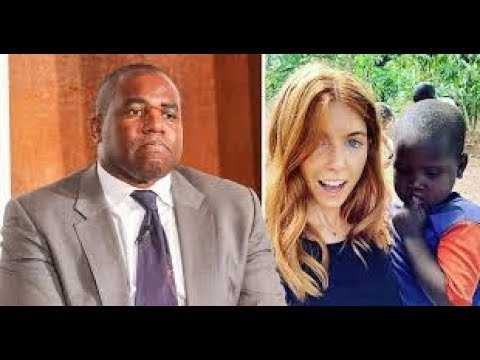 Stacey Dooley 'white saviour' row interview with David Lammy who objects