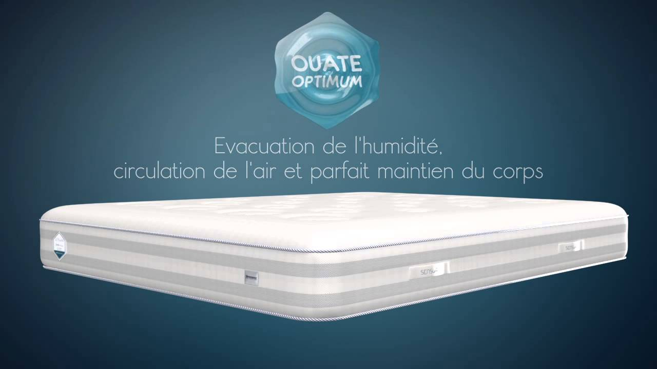 Matelas simmons collection sensoria youtube - Matelas simmons collection quietude ...