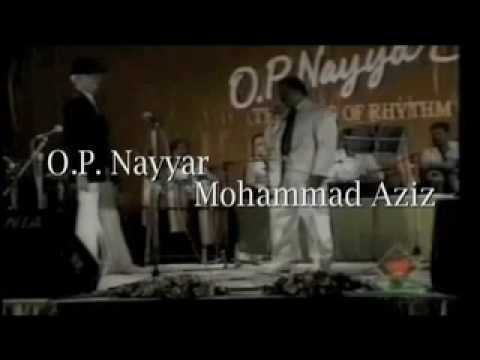 O.P. NAYYAR LIVE IN CONCERT PART - 1