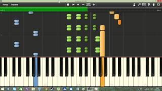 Песенка о медведях (Кавказская пленница) на пианино