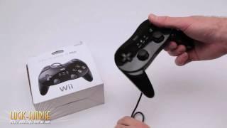 Manette classique pro noire pour Nintendo Wii - store.logic-sunrise.com