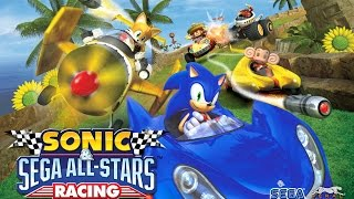 Découverte Sonic & Sega All-Stars Racing [ Wii ]