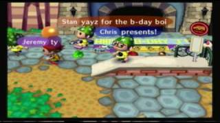 Animal Crossing Birthday Party Part 1 Musical Chairs!