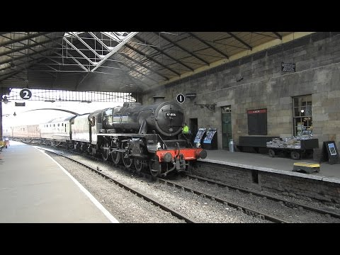 Trains on the North Yorkshire Moors Railway part1