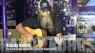 Slack Key Studio's Randy Kohrs tells about his Hayes guitar