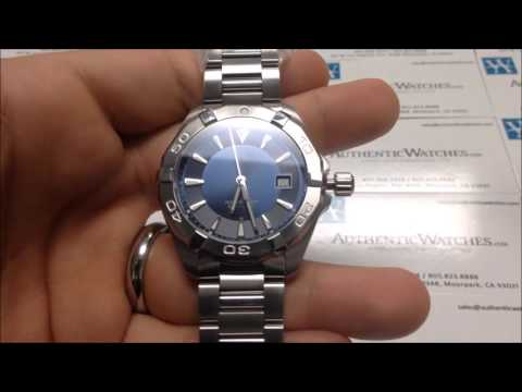 How To Use Any Tag Heuer Aquaracer Quartz Date