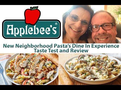 Applebee's | New Neighborhood Pasta's Taste Test & Review | JKMCraveTV