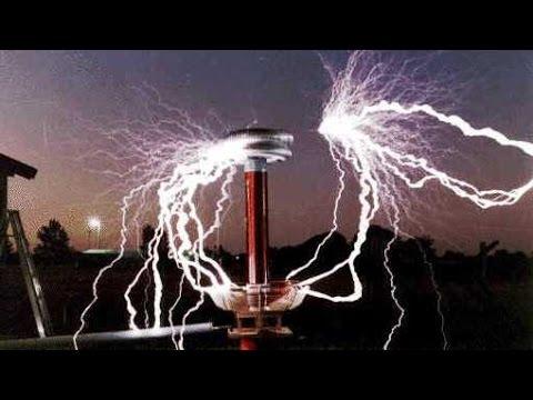 Tesla Coil 12 Million Volts