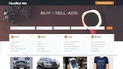 How To Make Website Like OLX Craigslist Quikr | Classified Ads Listing Website