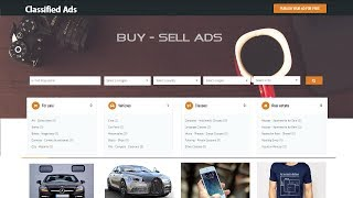 How To Make Website Like OLX Craigslist Quikr | Classified Ads Listing Website screenshot 2