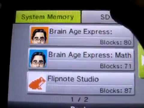 how to download main apps on dsi to sd card