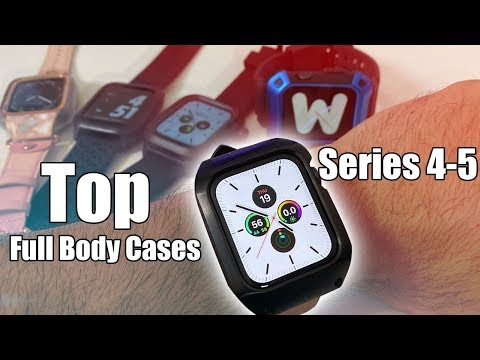 Best Full Cases For Apple Watch Series 4 & 5 - Catalyst Case And More!