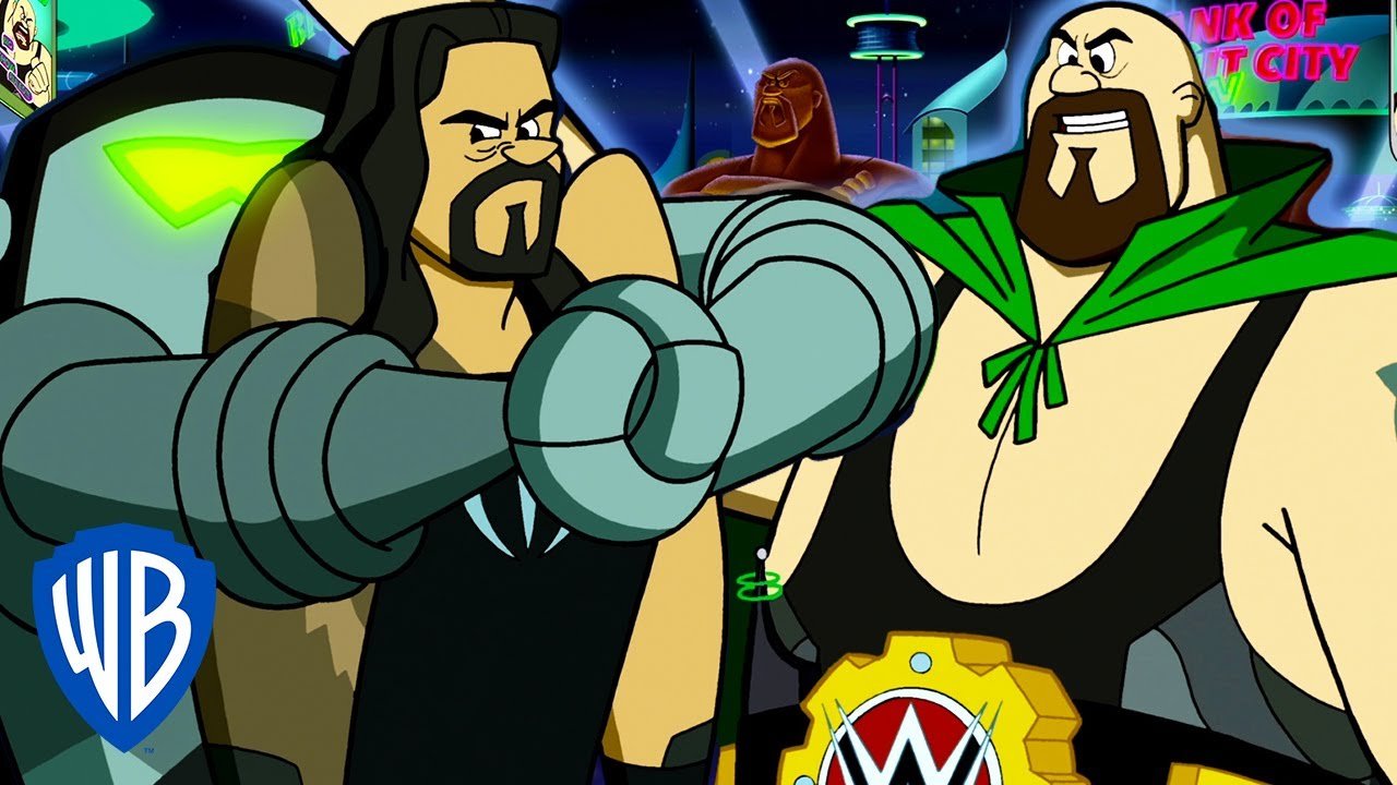 The Jetsons & WWE: Robo-Wrestlemania!   Caught In a Trap   WB Kids