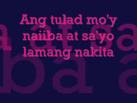Para Lang Sa'yo By Aiza Seguerra With Lyrics