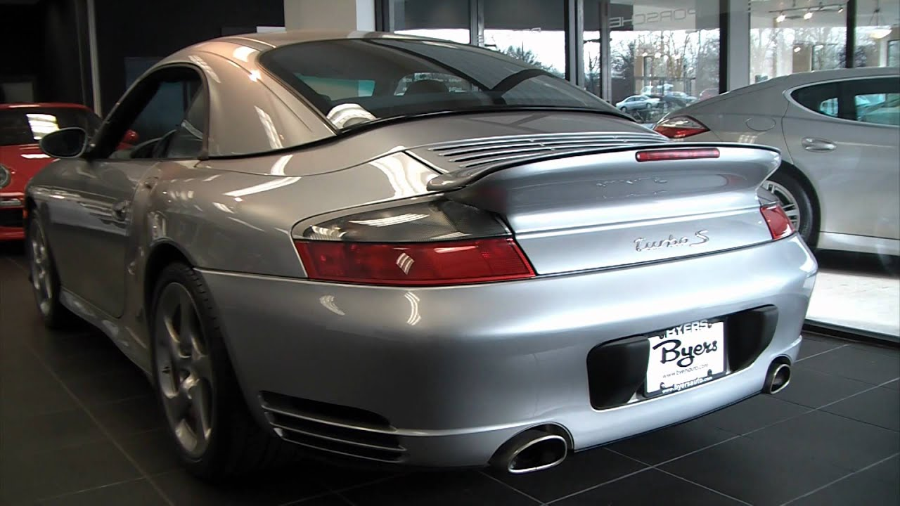 2005 porsche 911 turbo s cabriolet x 50 package video. Black Bedroom Furniture Sets. Home Design Ideas