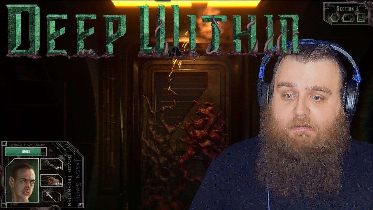 All Teeth & Eyes!! | Deep Within (Full Game)