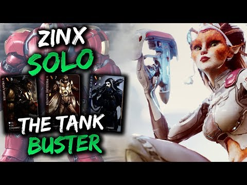 Paragon Zinx Gameplay - HOW TO DELETE ANY TANK!!!