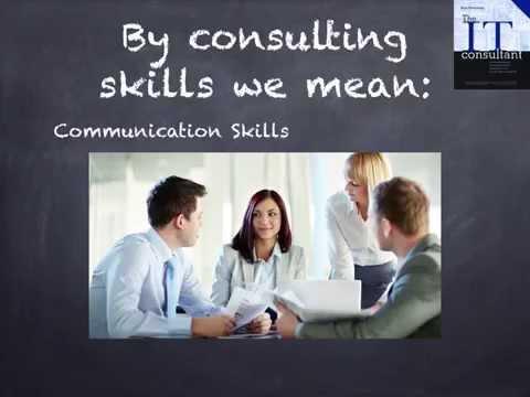 The IT Consultant Skill Set