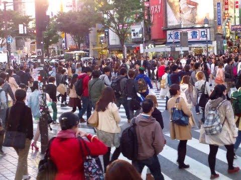 Shibuya Scramble Crossing, Shibuya Ward, Tokyo Metropolis