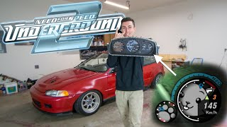 NFS CLUSTER IN REAL LIFE!! Childhood Dream Come True! thumbnail