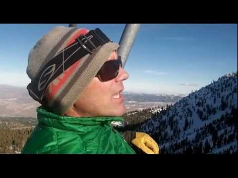Jeff Rector Skis Mt. Rose in Nevada