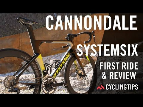 f0ea52ac4 Cannondale SystemSix  First ride and review