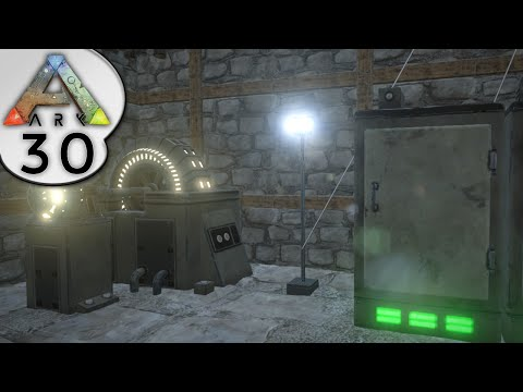 ARK: Survival Evolved - ELECTRICITY AND GENERATOR POWER  - S2E30 - Let's Play Gameplay
