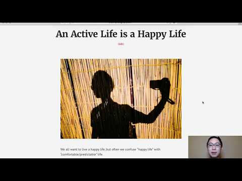 How to Live a Happier Life: Live a More Active Life
