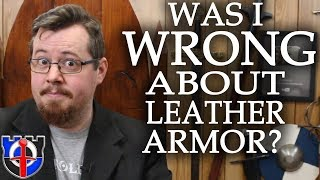 Was I wrong about medieval leather armor? Responding to my critics