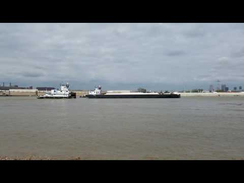 World's best Barge launch!