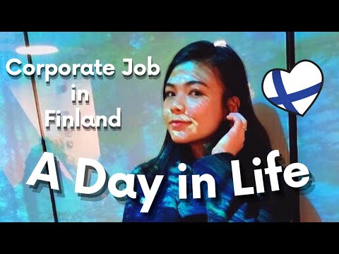 A Day in Life of a Salary Woman in Helsinki - VLOG