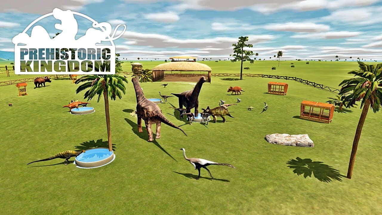Prehistoric Kingdom รีวิว เกมเพลย์ มาสร้างสวนไดโนเสาร์กัน!