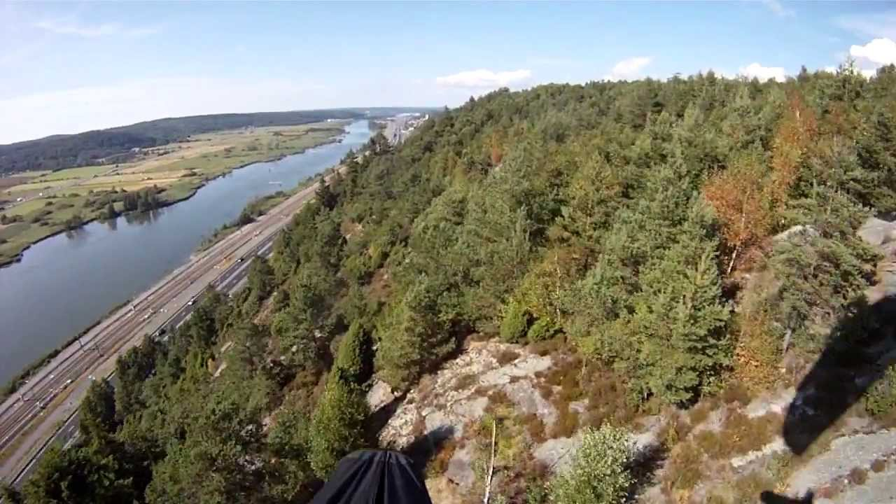 Paragliding Agnesberg Goteborg 2013 07 29 Youtube