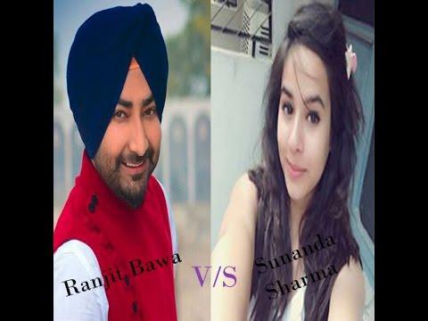 Yaari Chandigarh Waliye - Fusion||Ranjit Bawa v/s Sunanda Sharma||With Lyrics