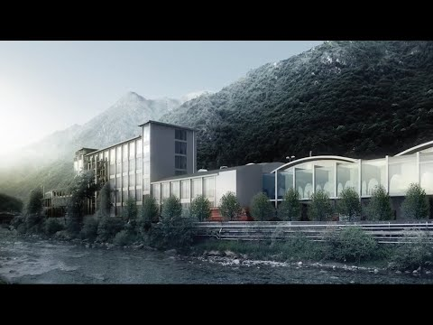 BIG's proposal to build S.Pellegrino's new home