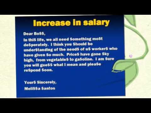 sample letter to boss asking for a raise