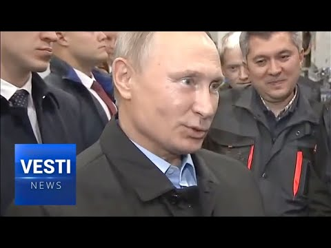 Putin Сomments On How Western Sanctions Gave Boost to Russian Industries