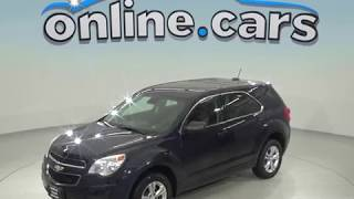 A98610PT 2014 Chevrolet Equinox SUV Blue Test Drive, Review, For Sale