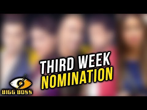 Third Week NOMINATION List Revealed | Bigg Boss 11