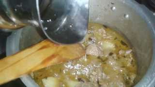 Easy mutton or lamb stew -Christmas dinner recipe