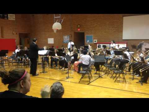 Macon County Middle School Spring Concert May 2015